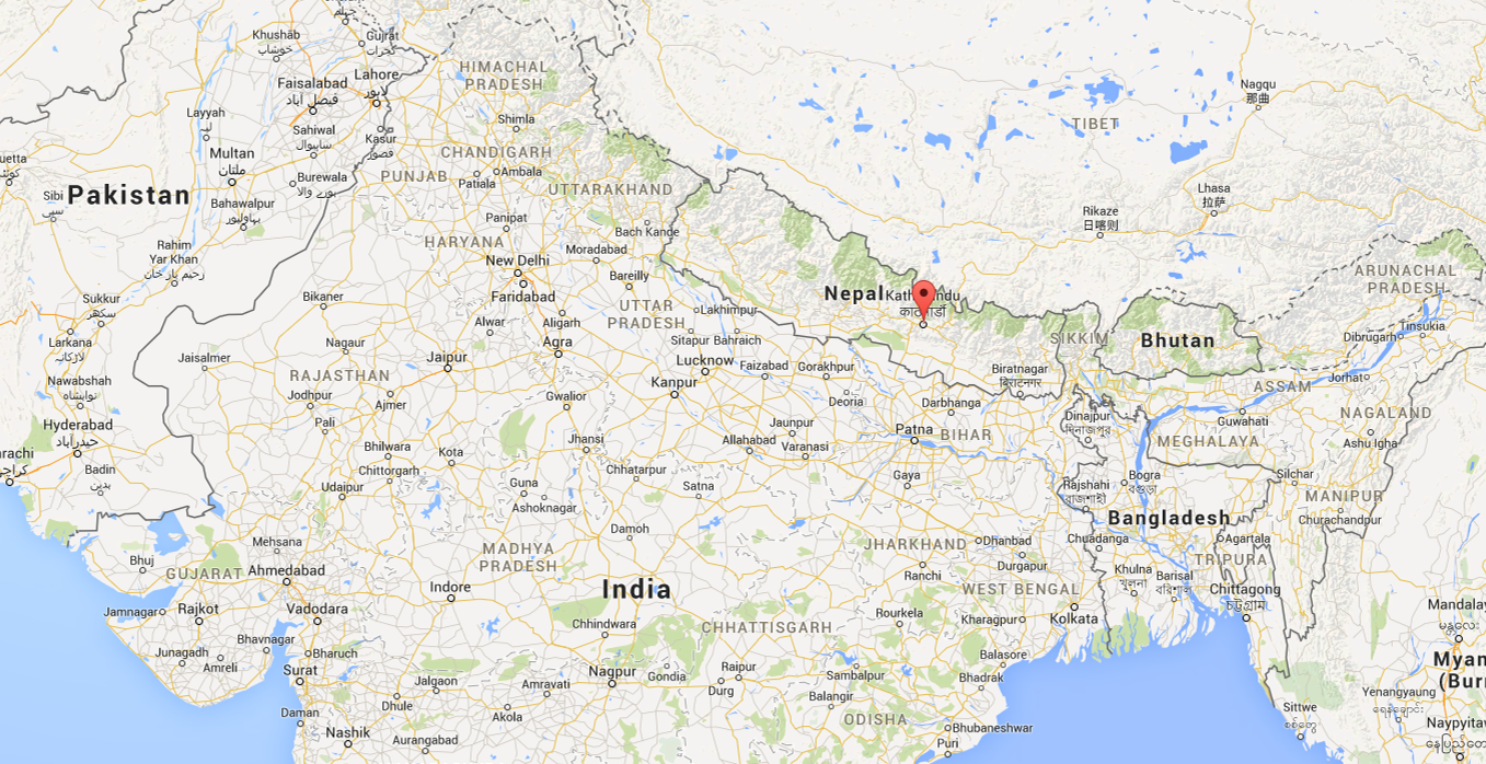 Areas Of Indian Subcontinent Left Devastated After Nepal Earthquake