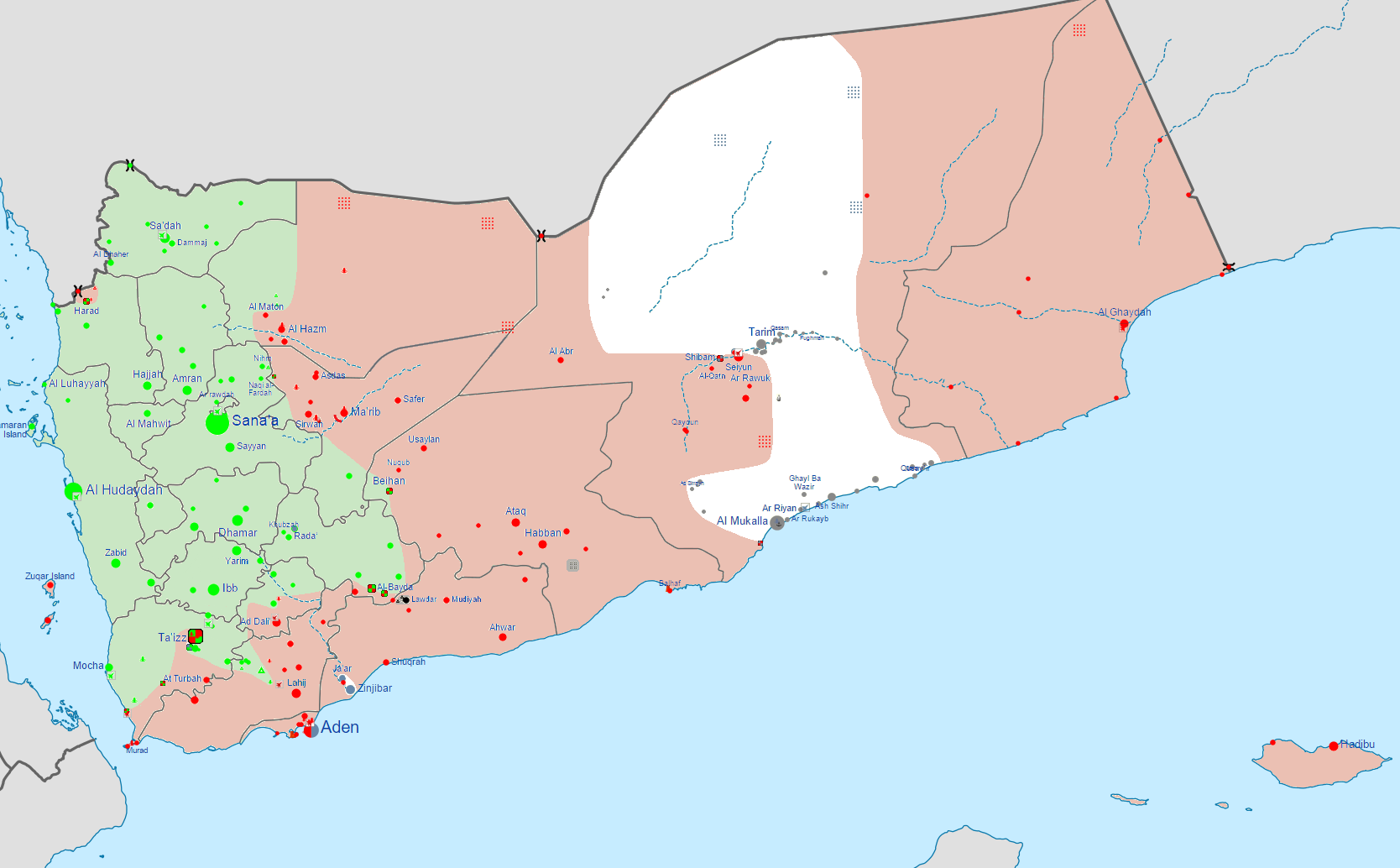 Yemen Airspace Declared A No Fly Zone