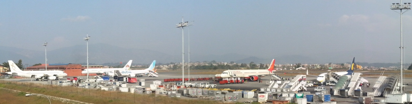 Operations At Kathmandu Airport Following Nepal Earthquake And Aftershock