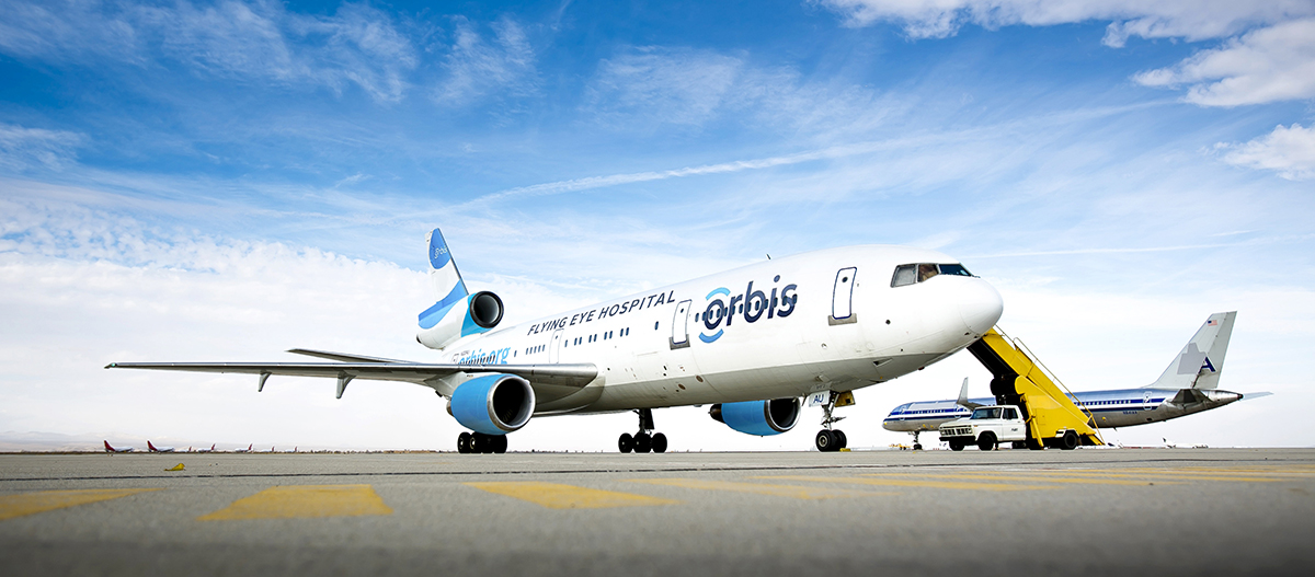 UAS International Trip Support Sharing Vision With Orbis