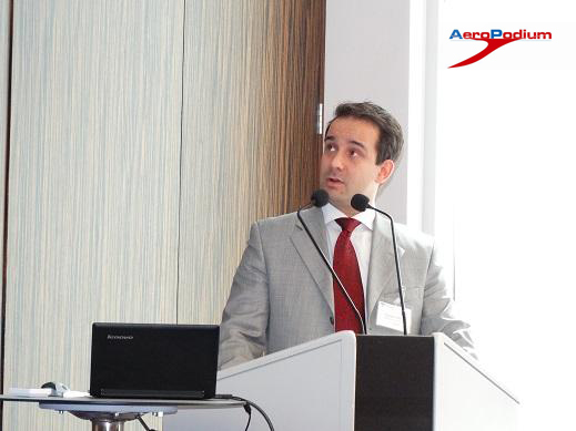Richard Hekker At Baltic Aviation Conference