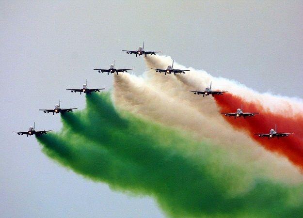 Tips And Trips: Frecce Tricolori Anniversary Air Show