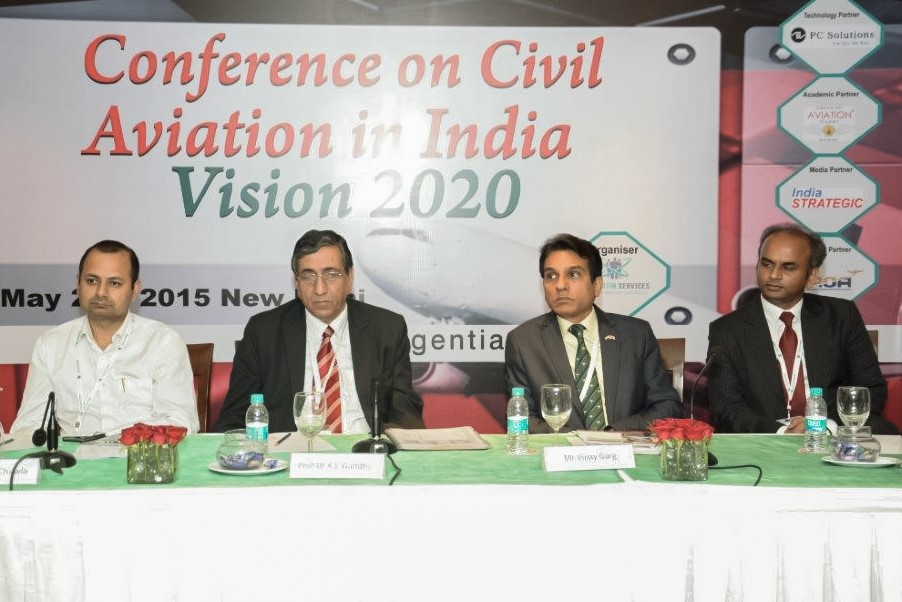 Vinay At Civil Aviation India