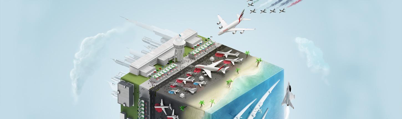 The Dubai Airshow 2015