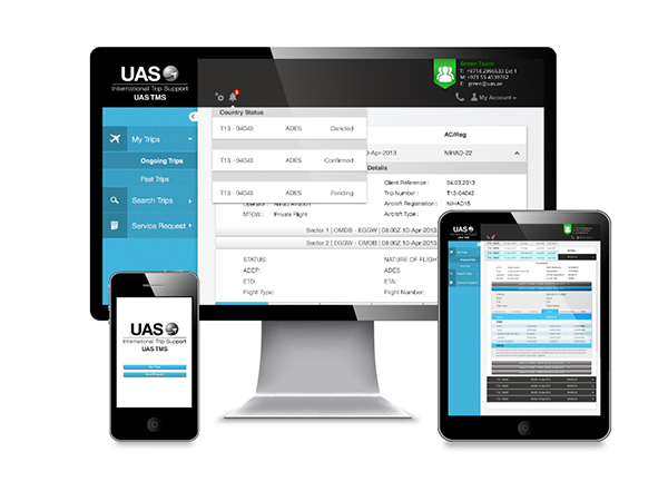 UAS Trip Management System TMS