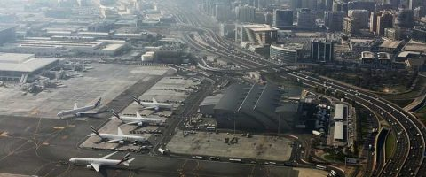 Runway At DXB
