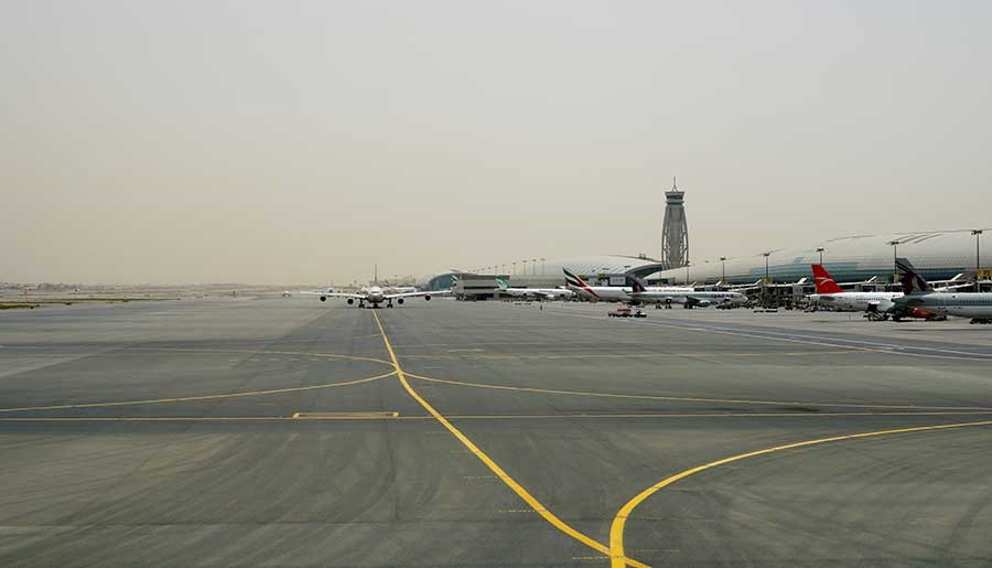 Minimum Runway Occupancy At DXB