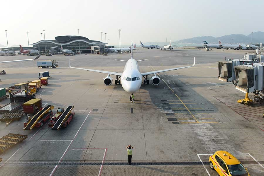 New Centralized Parking At Shanghai Hongqiao Airport