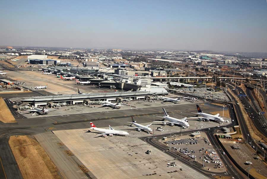 Flight Operations To OR Tambo