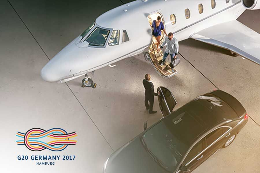 Flight Operations To The G20 Summit Hamburg