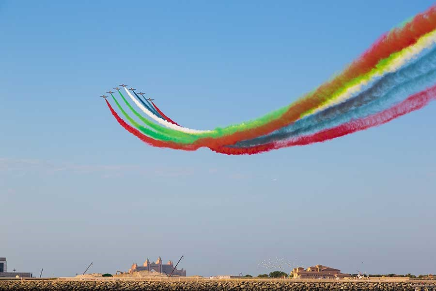 Restrictions For Dubai Air Show 2017 - Al Maktoum International Airport