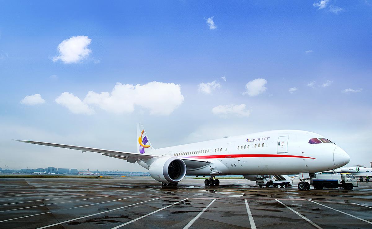 The Dream Jet Under UAS Charter Management