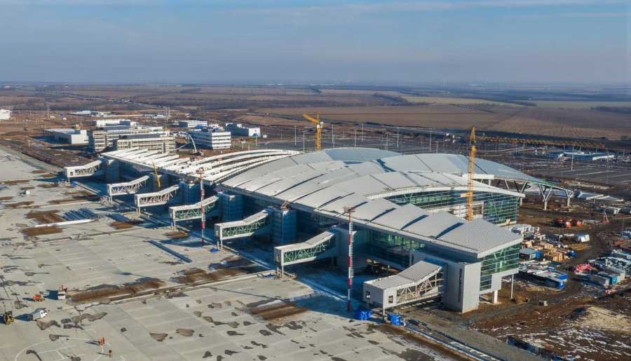 The New Platov International Airport