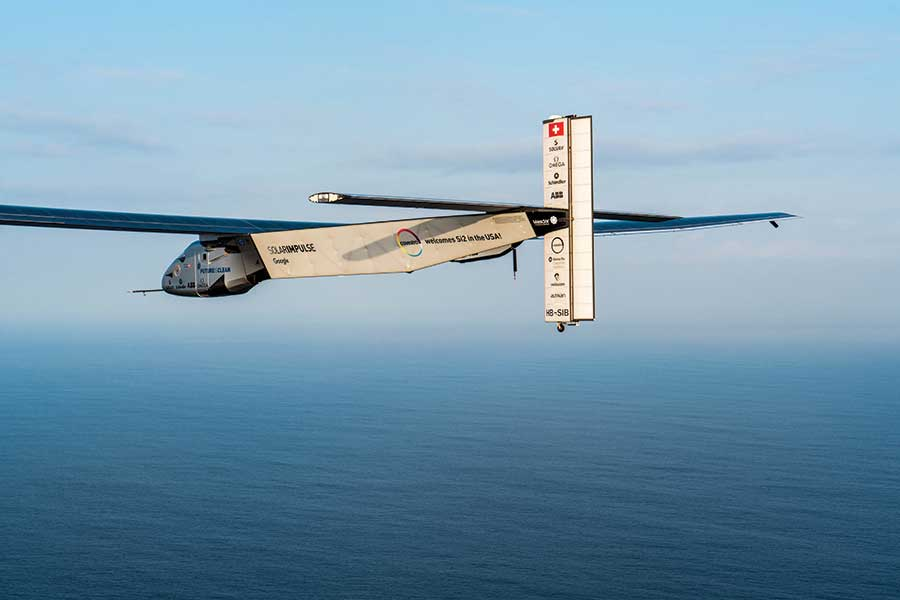 Unique Flying Machines: Solar Impulse 2