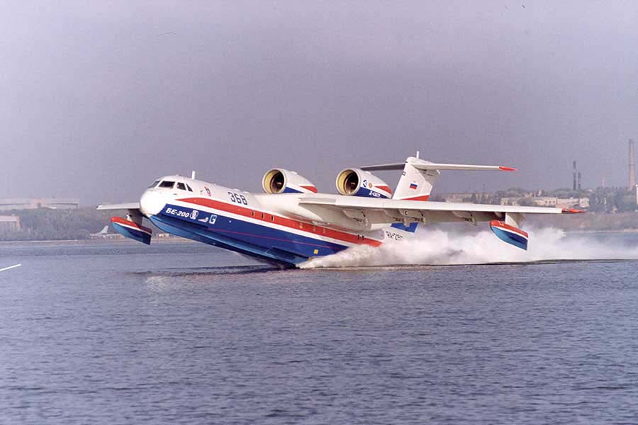 Unique Flying Machines: Beriev Be-200 Seaplane