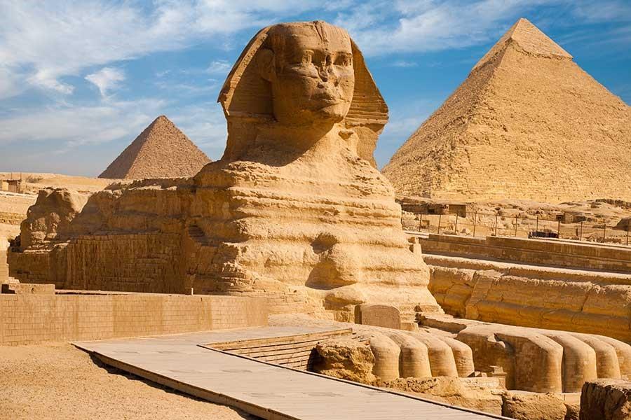 Cairo's New Sphinx International Airport