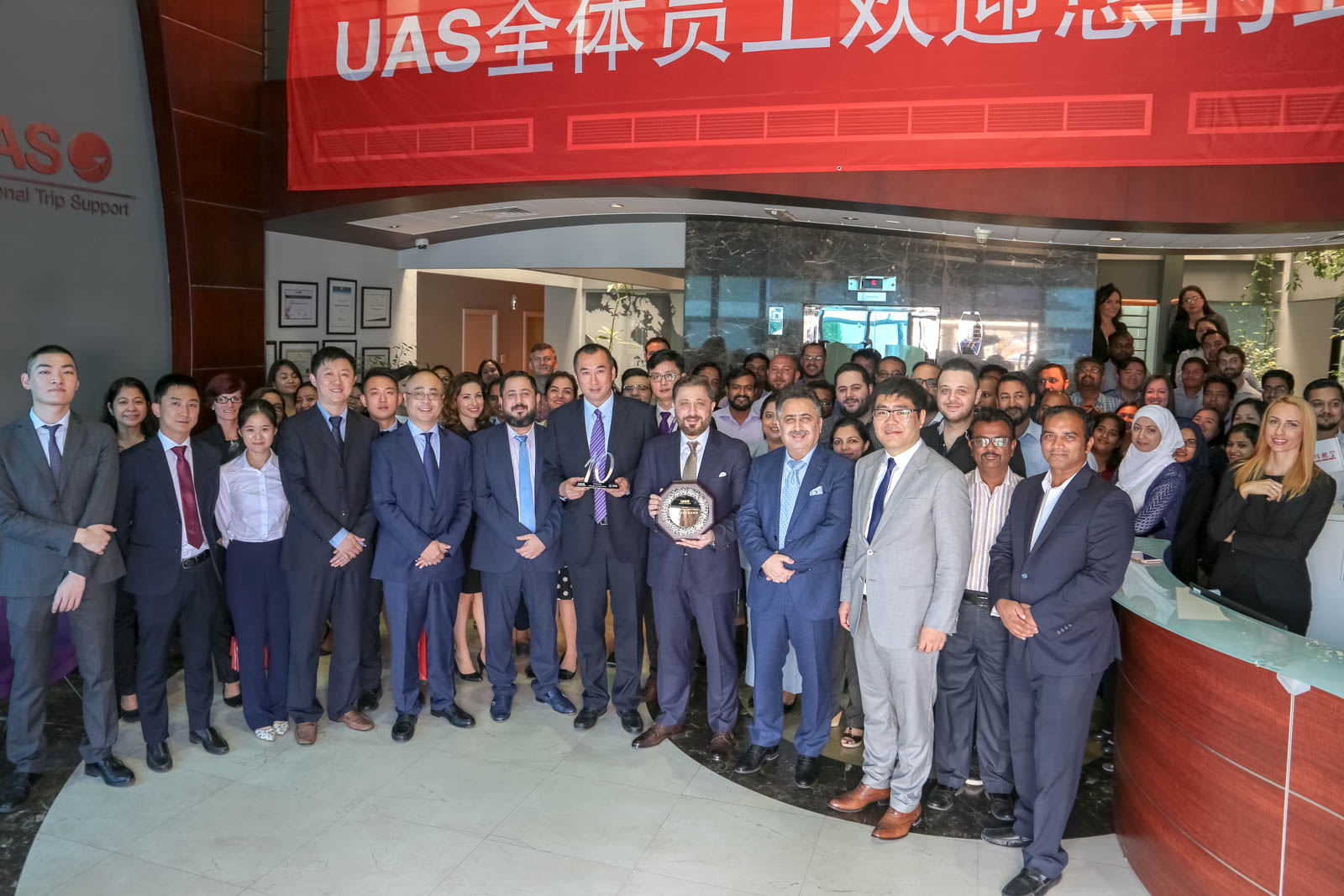 UAS And Sichuan Airlines Celebrate A Decade Of Successful Partnership