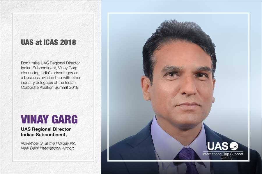 UAS To Feature At ICAS 2018 In New Delhi