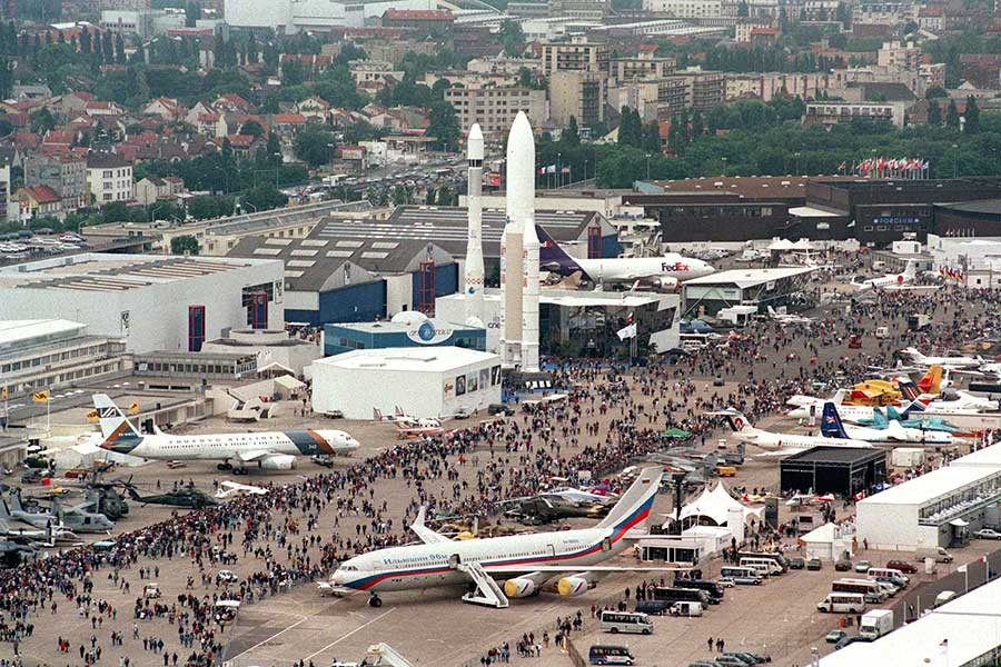 Le Bourget Paris Air Show Restrictions