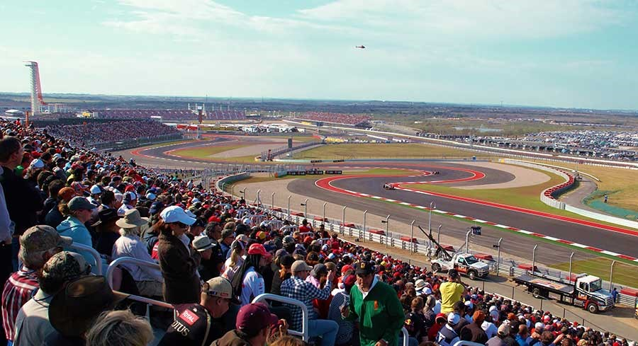 2019 F1 United States Grand Prix, Texas