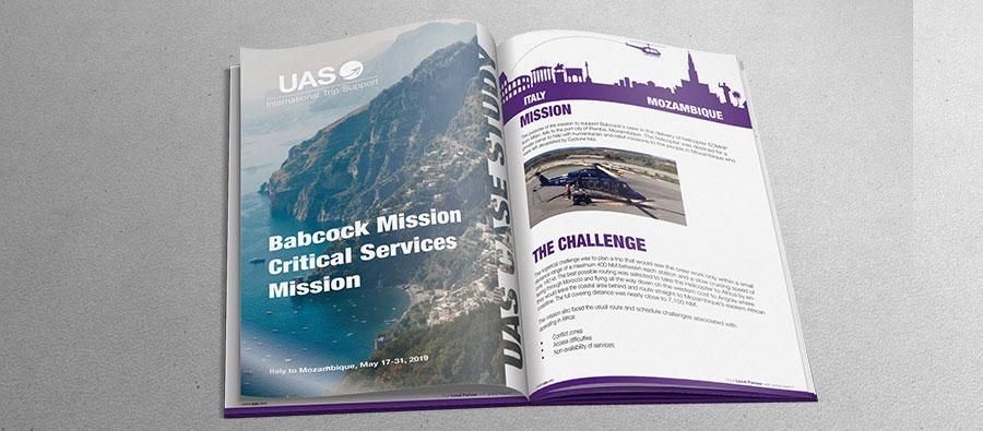 2019 UAS Case Study Babcock Mission Critical Services Mission