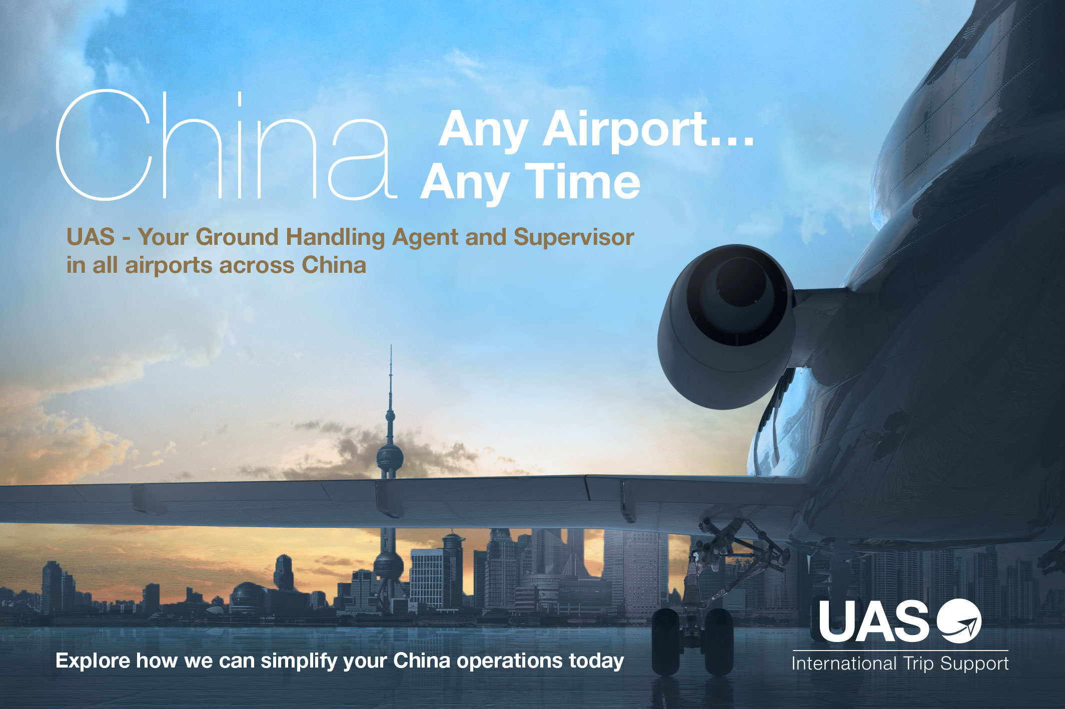 China, Any Airport, Any Time