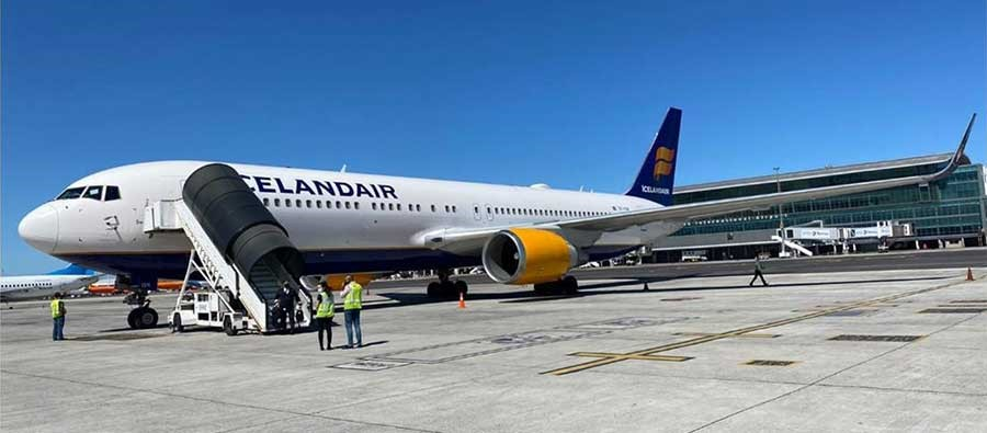 UAS Proud To Play Role In Icelandair's Antarctica Mission